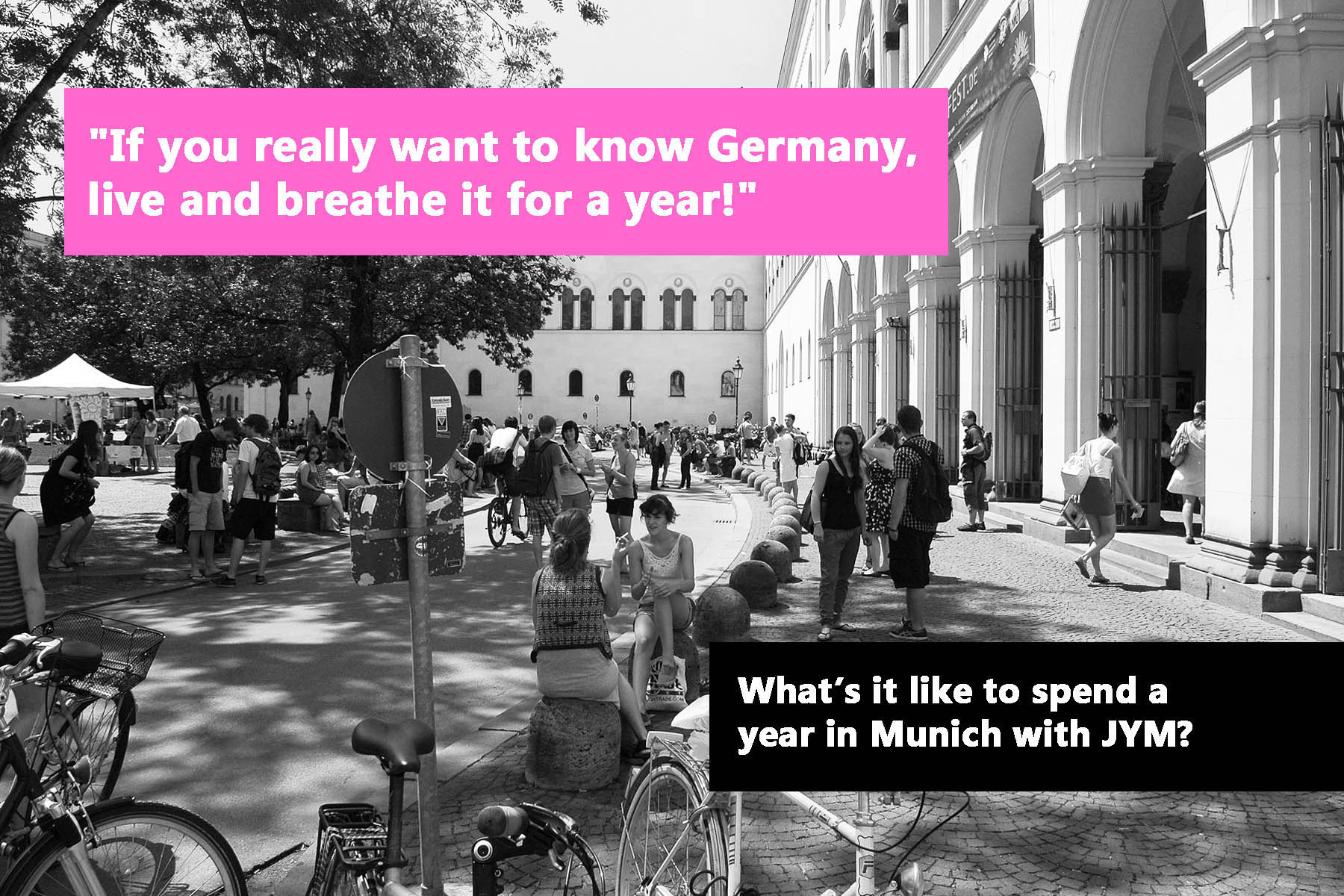 What's it like to spend a year in Munich with JYM?