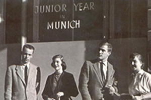 In front of JYM 1950s